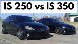 Lexus IS 250 versus IS 350 (2nd Generation, RWD)