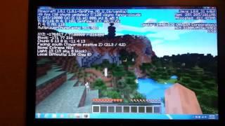 minecraft on an old laptop latitude e6410