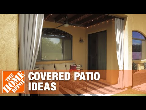 Covered Patio Ideas: Outdoor Living Space Design Tips | The Home Depot