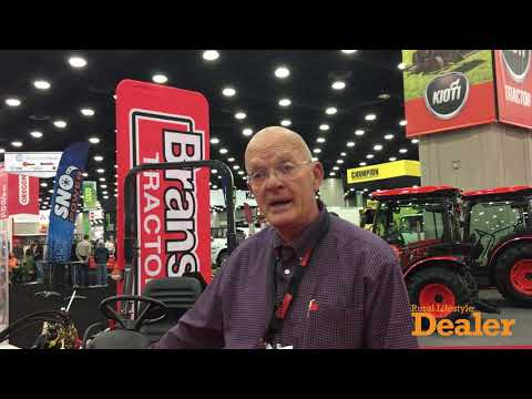 Branson Tractor's New 2510h Compact Tractor - YouTube