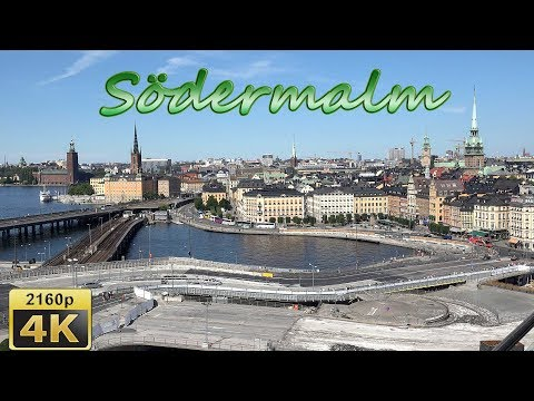 Fotografiska, Slussen and Södermalm in Stockholm - Sweden 4K Travel Channel