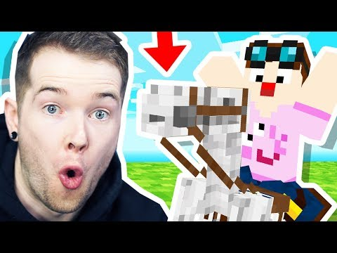 I STOLE a SKELETON HORSE in Minecraft Hardcore!
