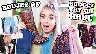 How to: BOUJEE on a BUDGET Try On Clothing HAUL & 20% DISCOUNT CODE! Missguided New In 2019 ad