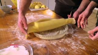 Recette : Tarte Normande Aux Pommes - Les Carnets De Julie