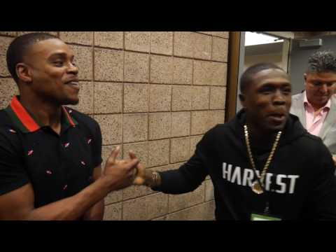 Errol Spence wants to spar Troy King, Kell Brook fight and gets dap from Berto