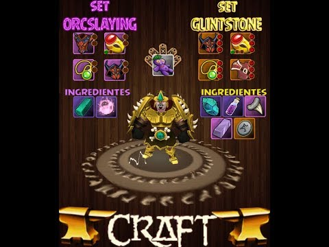 Arcane Legends COMO CRAFT SET GLINTSTONE!!!