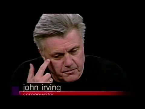 "John Irving and Director Lasse Halstrom talk ""The Cider House Rules"" on Charlie Rose (2000)"
