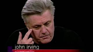 John Irving and Lasse Halstrom interview on