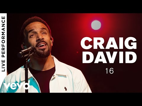 Craig David - 16 -  Performance  Vevo