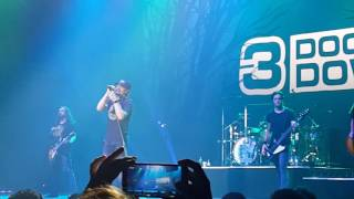 "3 Doors Down ""Loser""Live in Köln (Colone Germany) Palladium 22.10.2016"