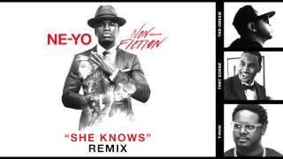 "NE-YO ""She Knows"" Official Remix ft. Trey Songz, The-Dream, & T-Pain #NONFICTION2015"