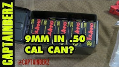 9mm Boxes in .50 Cal Ammo Can (How Many Fit?)