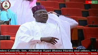 Senate Plenary, 6th June, 2018