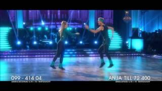 Filmbattle: Anja Pärson och Calle Sterner - Let's Dance (TV4)