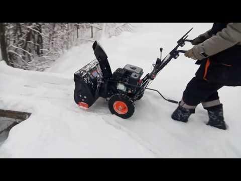 Снегоуборщик PATRIOT PS 603E, ОБЗОР,ЗАПУСК, ТЕСТ, SNOW REMOVING MACHINE