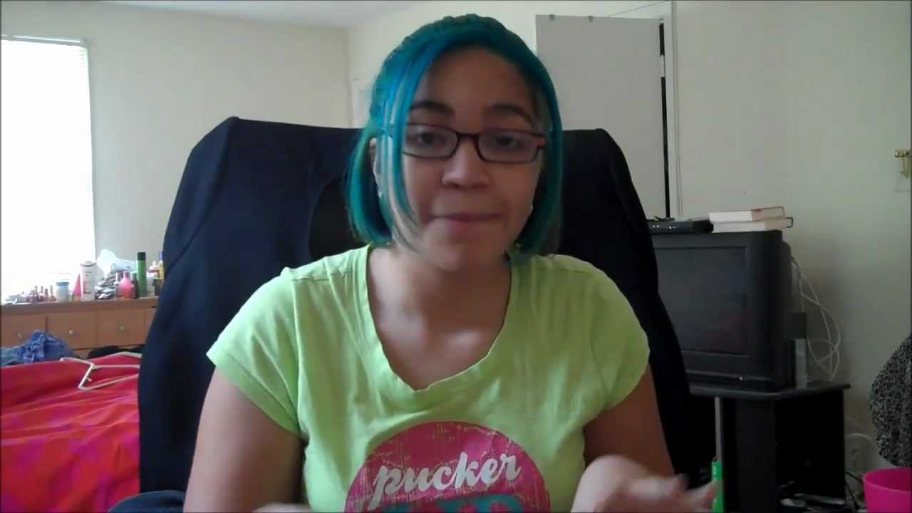 Splat Aqua Rush Hair Dye Review