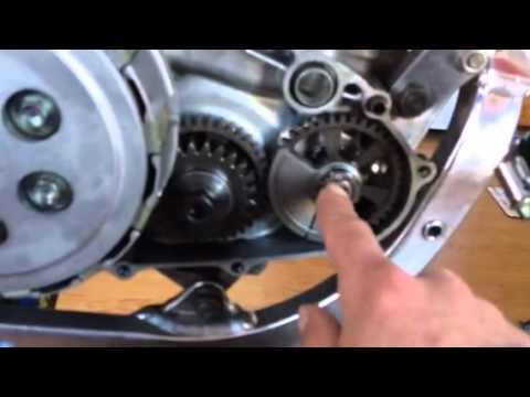 honda crf 450 water pump counter balancer repair part 1