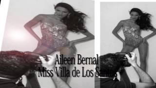 Aileen Bernal. CAMINO AL MISS PANAMA UNIVERSO 2014. Miss Villa de Los Santos