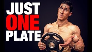 """How to Build """"Boulder Shoulders"""" (WARMUP & WORKOUT!)"""