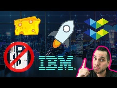 Stellar Lightning Network | Elastos iOS | Trump Bans Petro | Crypto TV Show | IBM | $XLM $ELA $EOS