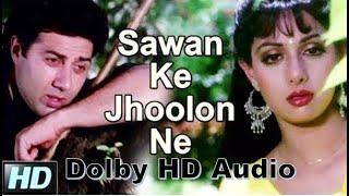 Sawan Ke Jhoolon Ne Mujhko Bulaya HD 1080p | Nigahen Songs | Mohammad Aziz Songs| Dolby HD Audio