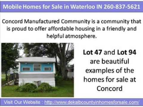 Mobile Homes for Sale in Waterloo IN 260-837-5621