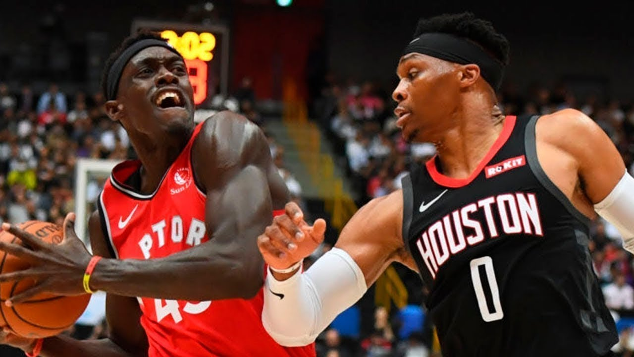 Houston Rockets Vs Toronto Raptors Full Game Highlights October 8 2019 Nba Preseason