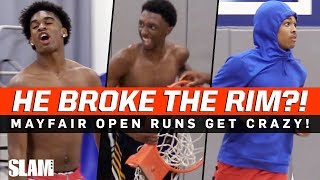 Download He Tore the Rim Off the Backboard?! 😱 Mayfair Open Runs are INSANE! Mp3 and Videos