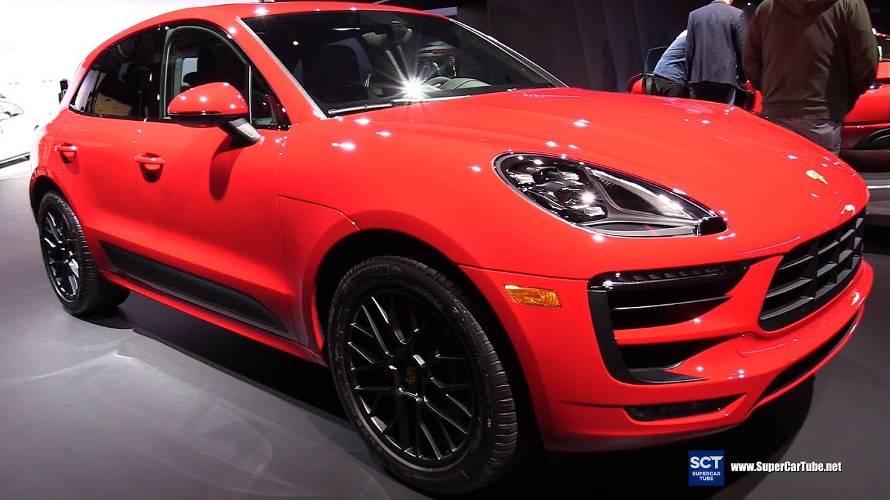 Dallas Auto Show >> 2018 Porsche Macan GTS - Exterior and Interior Walkaround - 2017 LA Auto Show - YouTube