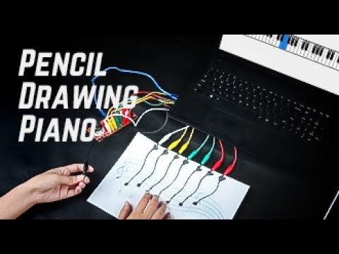 How to Make a Pencil Drawing Piano with Multi-Control