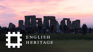 Summer Solstice at Stonehenge 2018 - Sunset