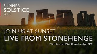 Summer Solstice at Stonehenge 2018 - Sunset