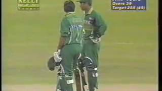 India Pakistan 1996 World cup final 10 overs