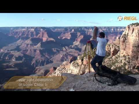 The RIEGL VZ-4000 scanning the Grand Canyon