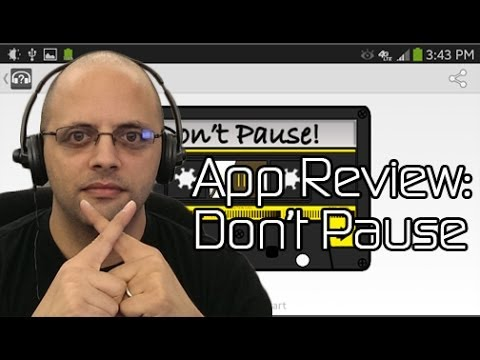 """""""Don't Pause"""" My Music Bro -- Android App Review"""