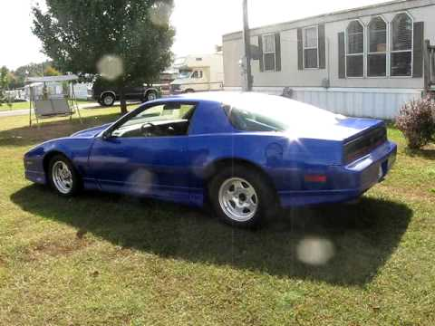 87 firebird gta nos cam  YouTube