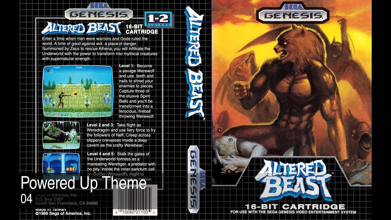 Altered Beast Music • Sega Genesis