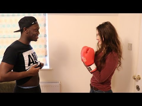 GETTING READY FOR DEJI VS JAKE PAUL BOXING MATCH