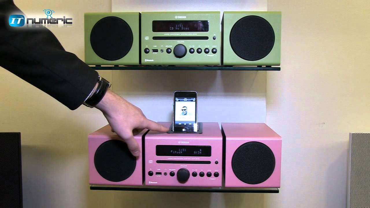 Micro chaîne Yamaha gamme MCR - Salon de la HiFi Home cinéma 9