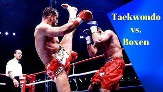 Boxen vs. Taekwondo (Echte Kämpfe)