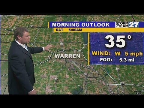 Warren Morning Weather 10-17-2015