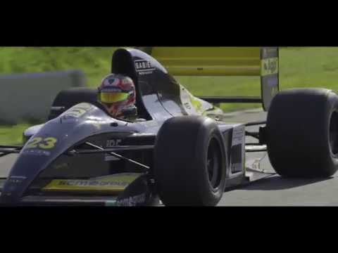 The Minardi 191b F1 With Lamborghini Engine Returns To Racing After