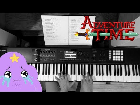 Come Along With Me  Adventure Time Finale  Sad Piano  + Strings