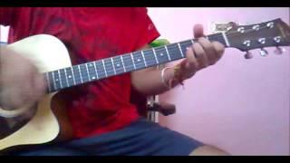 learn TUM HO (ROCKSTAR) on guitar