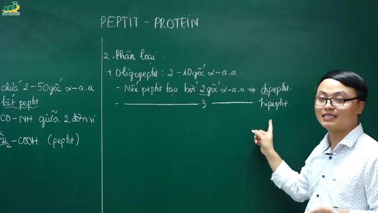 Hóa Học Lớp 12 –Bài giảng Lý thuyết về peptit – protein |Ôn thi thpt Quốc Gia