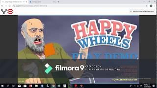 Mi Primer Video Pc 2    Happy Wheels    Potatoe Games