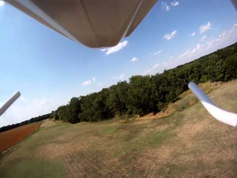 Blade 450 And Gopro - The End Wasn't Exactly Pretty!