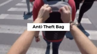 InnovaGoods Gadget Cool Anti Theft Backpack