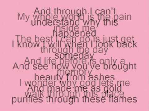 Beauty from pain Lyrics