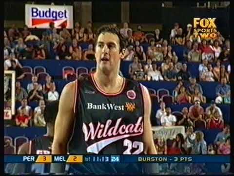 2004 NBL Perth Wildcats vs Melbourne Tigers Reg Season - Summer Jam @ Burswood Dome